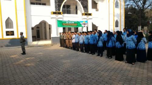 Upacara Hari Jadi Bogor Ke 536 Tk Kecamatan Klapanunggal