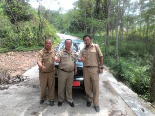 Monev TPT Bantuan Provinsi di Cioray